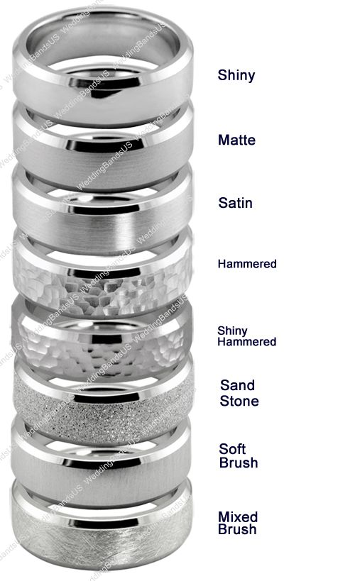 Types of guys wedding bands