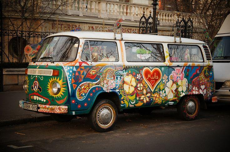Op vakantie in een VW hippy van