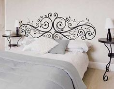 Las 100 mejores fotos e ideas para hacer un cabecero de cama original.   Mil…