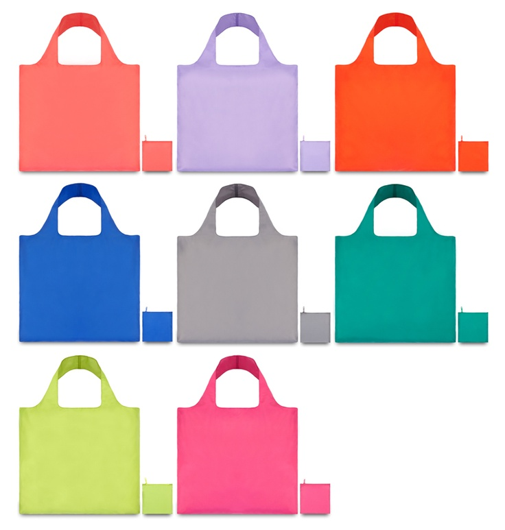 LOQi Puro Collection. These amazing foldable shopping totes are available for only $13.90 at The Planet Traveller