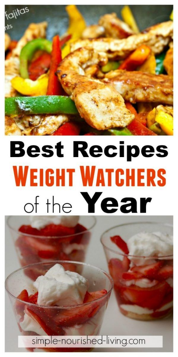 Best Weight Watchers Recipes of the Year with Smart Points / Points Plus