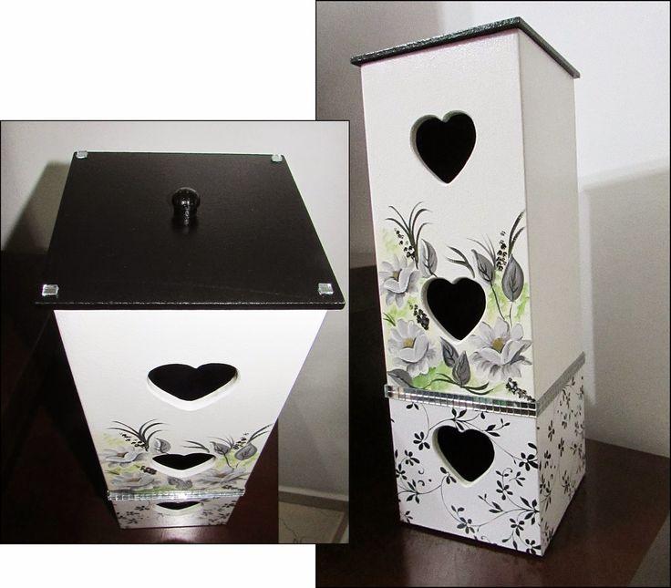 Artesanato Fortaleza Comprar ~ 17 melhores ideias sobre Lixeira De Banheiro no Pinterest Lixeiras para banheiro, Artesanato