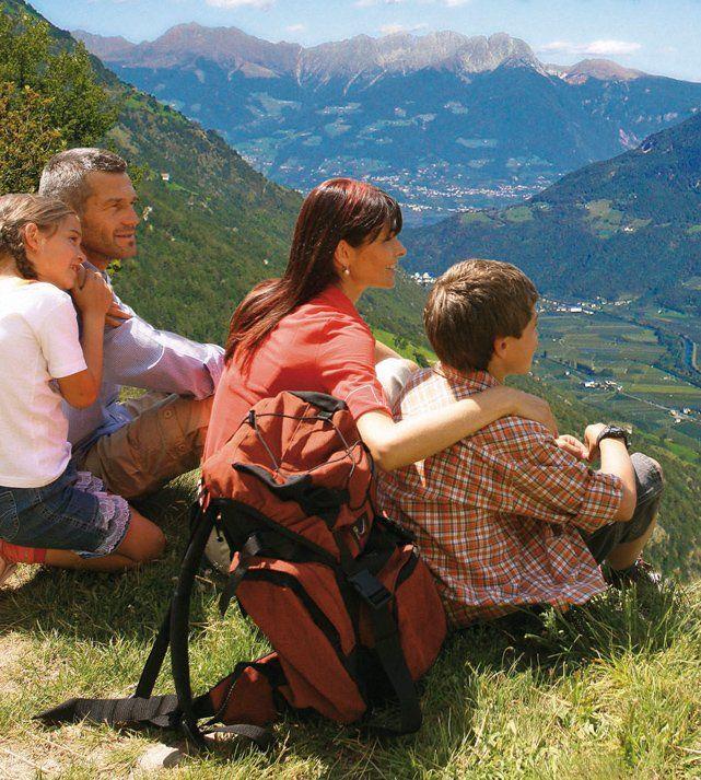 Ausblick auf den Vinchgau