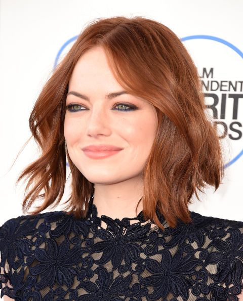 Emma Stone's deep red. Celebrity colorist Rita Hazan shares the five top colors of the season.