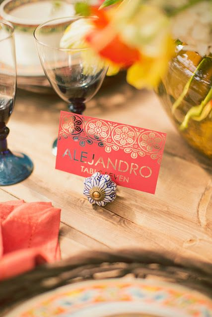 And Who Says You Can't?: DIY WEDDING PROJECTS WITH YOUR CRICUT/place card idea
