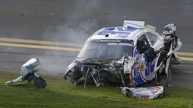 nascar crashes | NASCAR crash