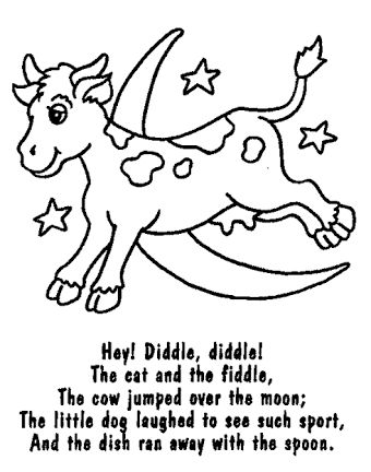 Image result for nursery rhyme colouring sheets