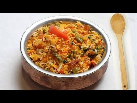 Vegetables Biryani video. This is a tasty and interesting vegetable biryani. The color looks  appetizing and the taste is great! It's delicious served with mint  chutney or simple, plain yogurt. Posted by SumeraNawed.