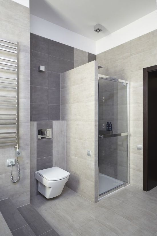 Grey Bathroom Bathroom Pinterest Grey Grey Bathrooms And Tile