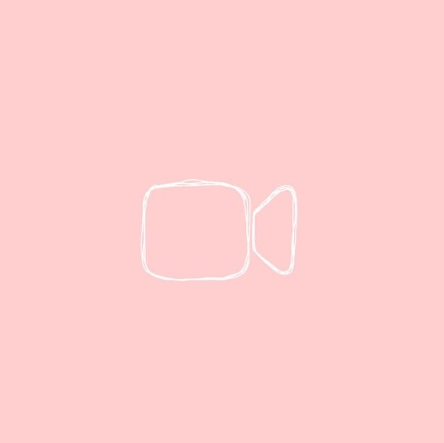 Pastel Pink Facetime Icon Pink Wallpaper Iphone App Icon Design Apple Icon