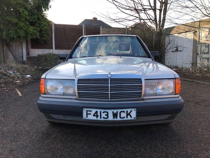 eBay: 1989 MERCEDES 190 E AUTO 2.0 PETROL MOT JUNE 18 RUNS/DRIVES NEED TLC PROJECT