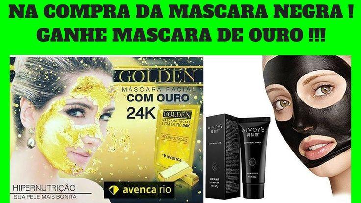 Máscara Tira Cravos e Espinhas: Na compra da mascara negra ganha também mascara de ouro.  Este Creme Torna-Se Um Adesivo Retira A Oleosidade Nasal E Tem Quatro Efeitos: Retira Cravos E Espinhas, Fecha Os Poros, Hidratante, Colágeno E Peeling. Click no Link para Conhecer a Máscara Tira Cravos: http://seumaiornegocio.com.br/blackmaskcravos #beleza #mascaradeouro #estetica @seu_maior_negocio