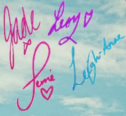 Little mix signatures transparent