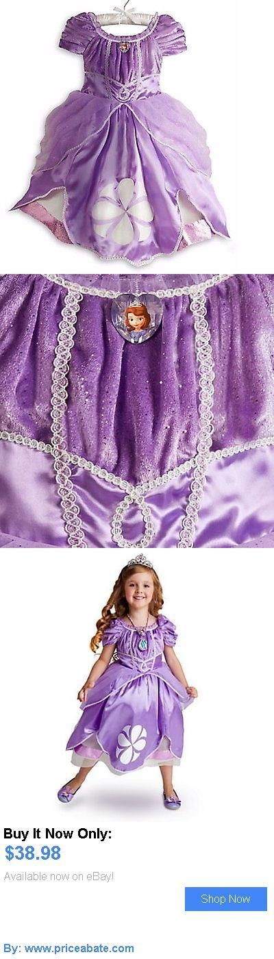 Kids Costumes: Disney Store Princess Sofia The First Costume Dress Toddler Girls 3 4 5 6 7 8 BUY IT NOW ONLY: $38.98 #priceabateKidsCostumes OR #priceabate