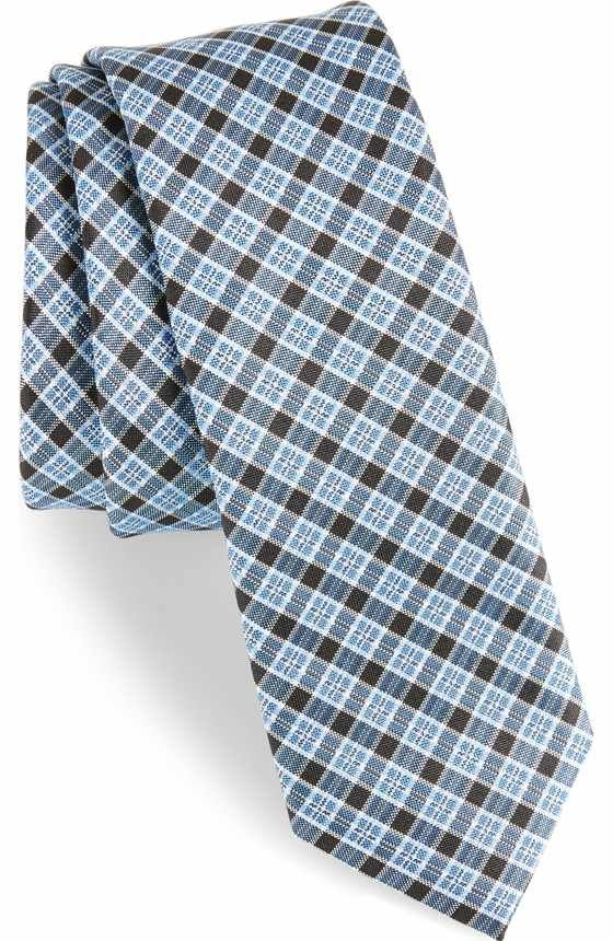 Free shipping and returns on BOSS Plaid Silk Tie at Nordstrom.com. Smart jacquard plaid makes this Italian-crafted silk tie an impeccably handsome choice.