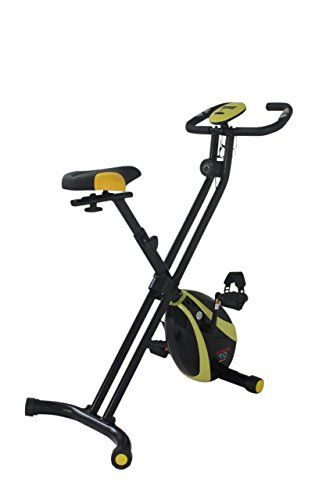 Olympic 2000 Compact Exercise Bike - Black--67.99