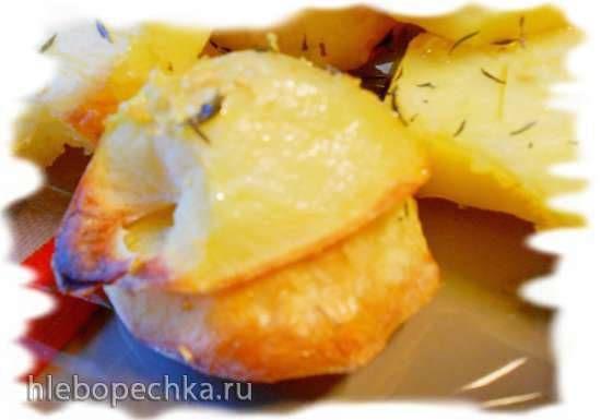 Картофель, запеченный с тимьяном и лимоном