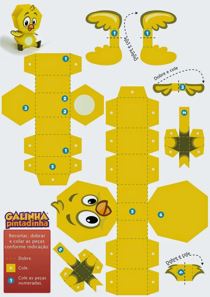 Pintinho-PaperToy-01