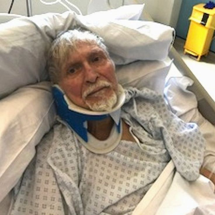 The 82-year-old had his gold bracelet and watch taken in the attack.