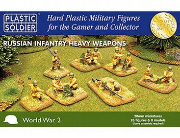 Plastic Soldier Company 28mm Russian Heavy Infantry Image