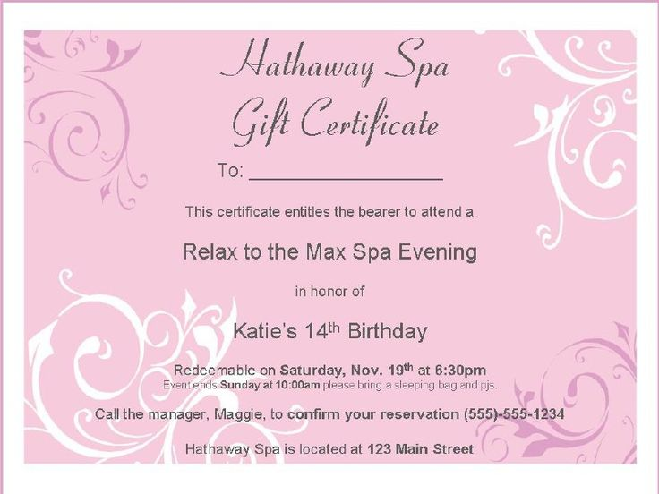 60 best Spa Party images on Pinterest Treatment rooms, Esthetics - sample invitation wording for 60th birthday