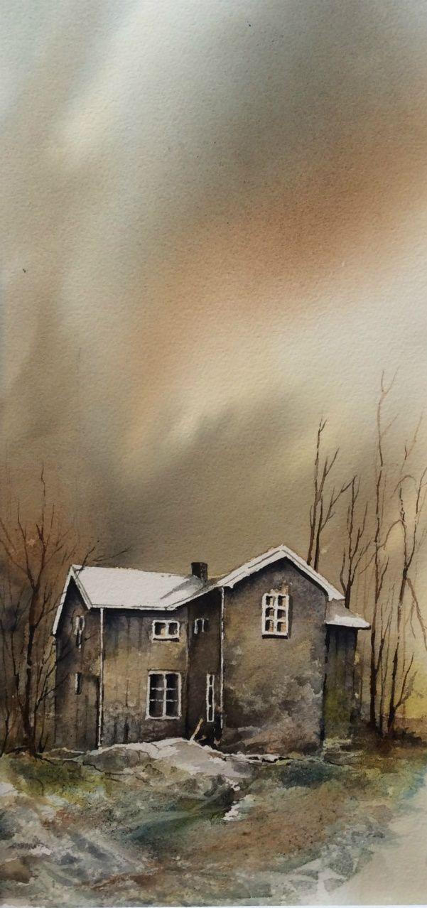 """Hanna L. Jakobsen, from her """"Gamle hus med sjel"""" (""""Old Houses with Soul"""") series"""