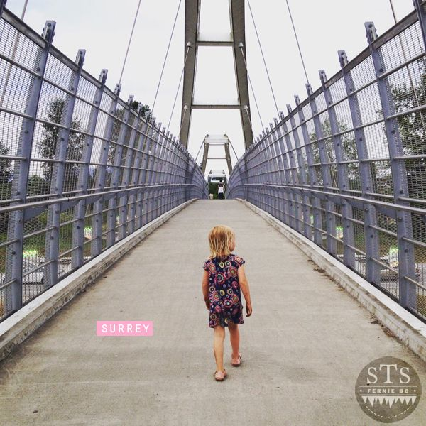 explore bc - road trip - surrey pedestrian bridge