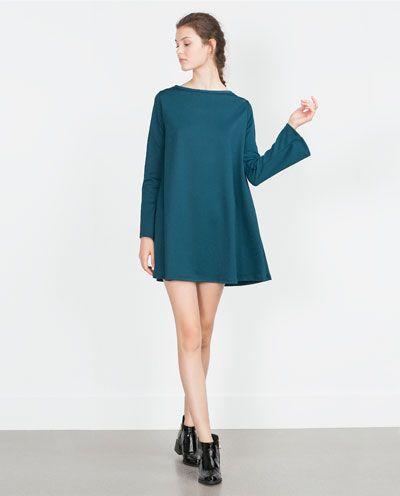 Black dress zara 7252 024