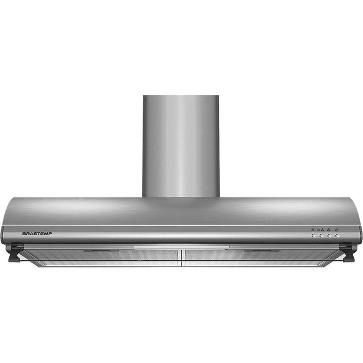 """Depurador de Ar Brastemp BAT80AR 80cm Inox - 220v - Eletrodomésticos - Depurador ar - Walmart.com $898  Depurador É o mais indicado para cozinhas pequenas, onde não há espaço para colocar a parte da """"chaminé"""". O depurador é responsável por reciclar o ar, devolvê-lo mais limpo ao ambiente. Sua potência é menor do que a das coifas e exaustores, mas seu preço é mais acessível. No depurador a gordura retirada do ar fica presa em uma grade de inox, por isso, é importante realizar a limpeza para…"""