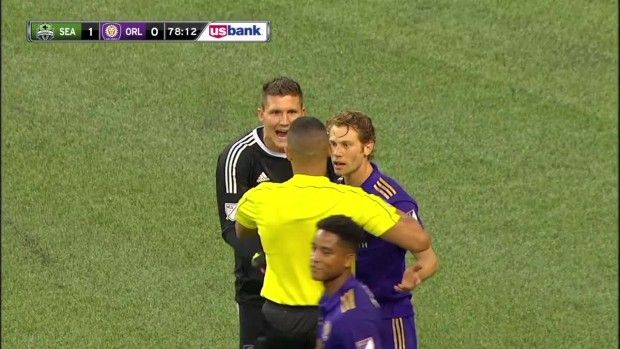 #MLS  YELLOW CARD: Jonathan Spector is shown a yellow card