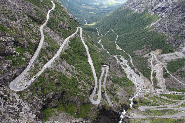 Trollstigen – Noruega - Foto Wikimedia