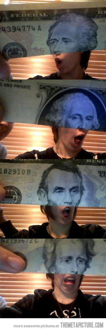 Humanized Currency… or what some past leaders think of yesterday... 10-17-13
