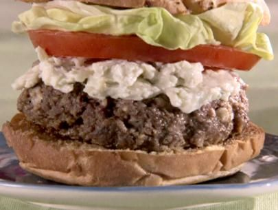 Bleu Cheese and Bacon Burgers