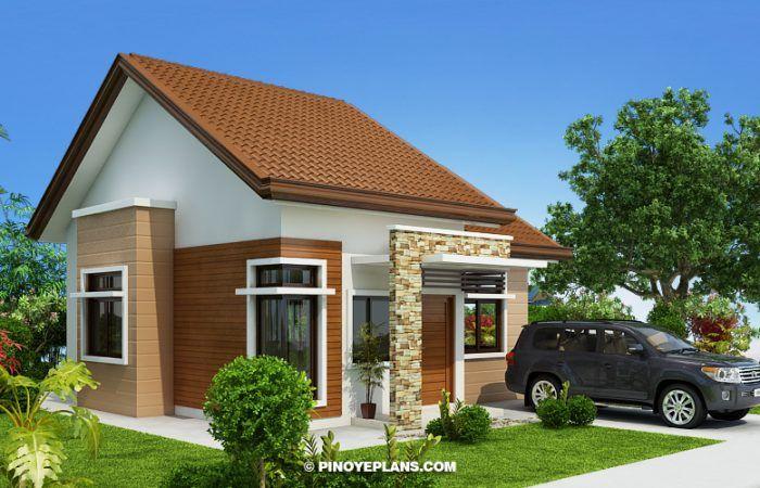 Katrina Stylish Two Bedroom House Plan Pinoy Eplans Two Bedroom House Bungalow House Design Bungalow House Plans