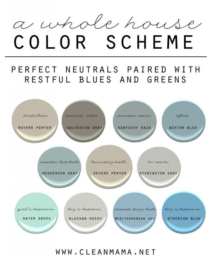 17 best images about paint whole house color palette on for Good paint color for whole house