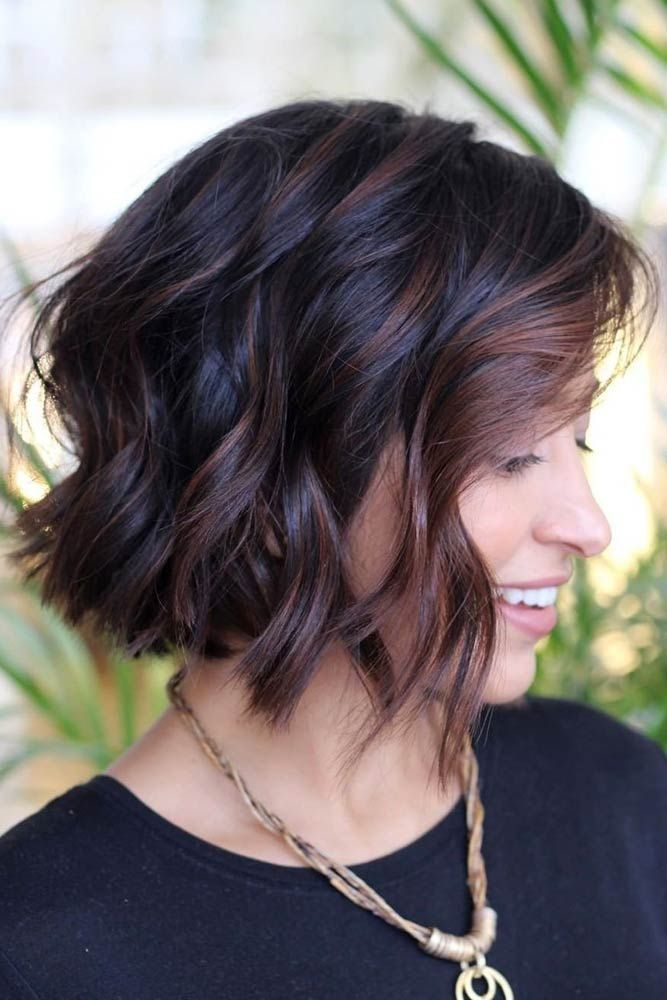 30 Easy And Cute Styling Ideas To Get Beach Waves For Short Hair Beach Waves For Short Hair Short Bob Hairstyles Short Hair Waves