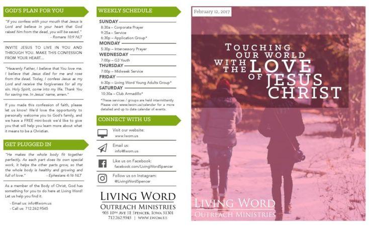 Living Word Outreach Ministries – Spencer, Iowa