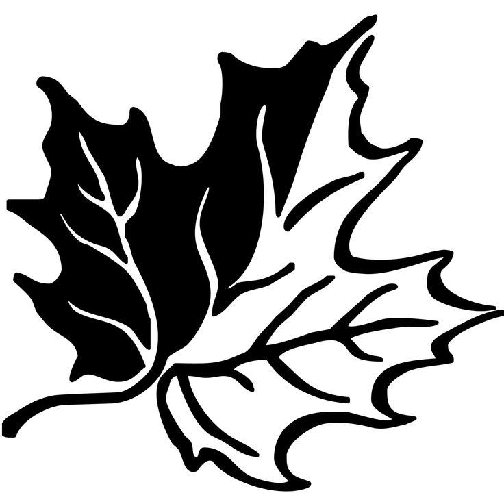 Herbstblaetter-vorlagen-5 Кленовые листья Шаблоны