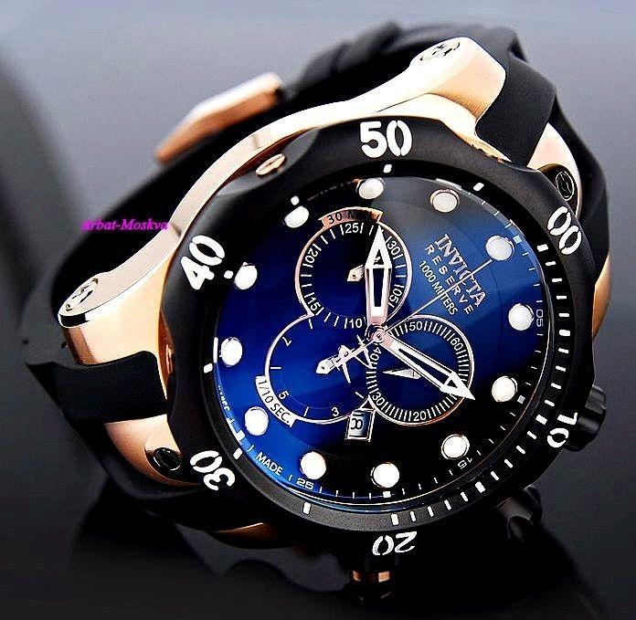 Invicta Gold Watch