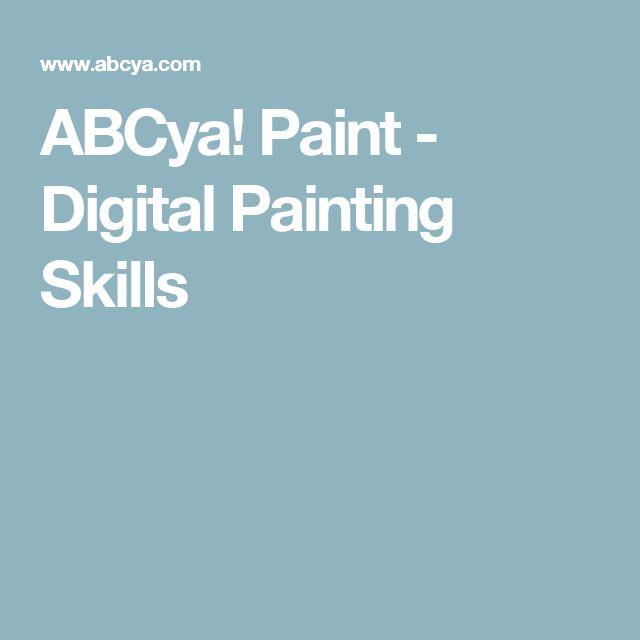 ABCya! Paint - Digital Painting Skills