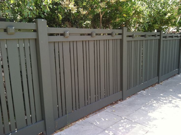 31 Best Mission Style Fence Images On Pinterest