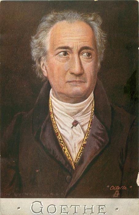 Johann Wolfgang von Goethe ~ C.W. Quinnell