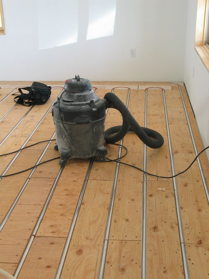 Radiant heat wood floor retrofit gurus floor for Radiant heat flooring options