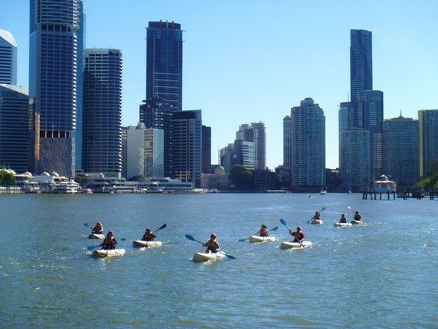 The Brisbane River | 16 Stunning Places To Do Your Next Workout In Brisbane