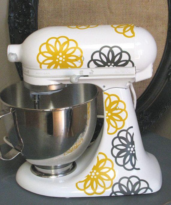 Diy Kitchenaid Mixer Decals ~ Best images about cricut gold vinyl on pinterest