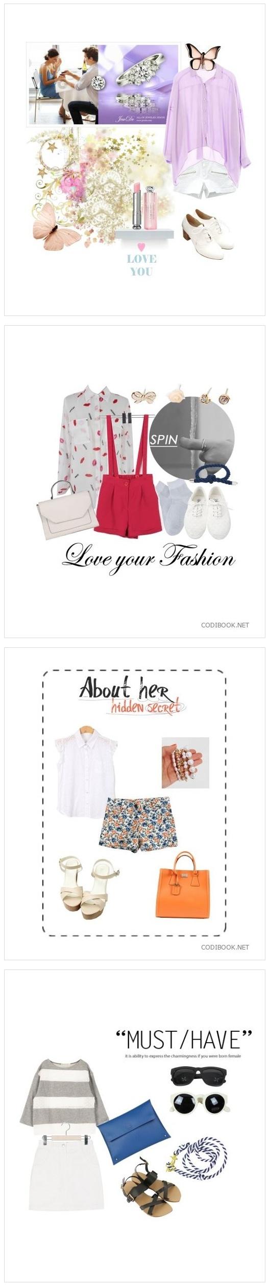 초여름 패션! 귀엽고 여성스럽게!