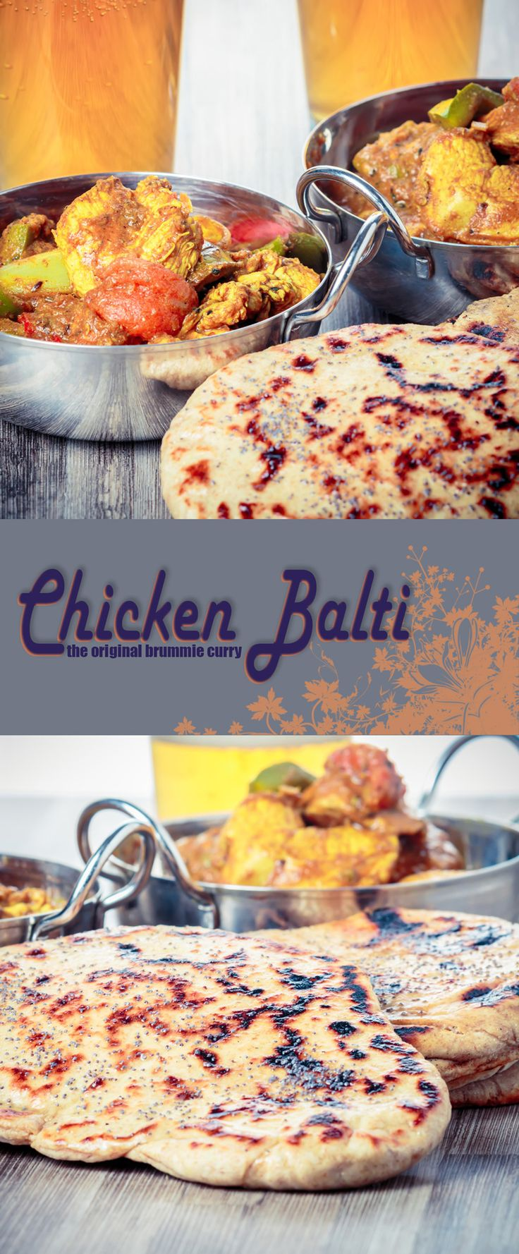 Chicken Balti Recipe: Chicken Balti is the pride of Birmingham and a curry not of Indian but Anglo Indian heritage dating from the late 1970's and went global!