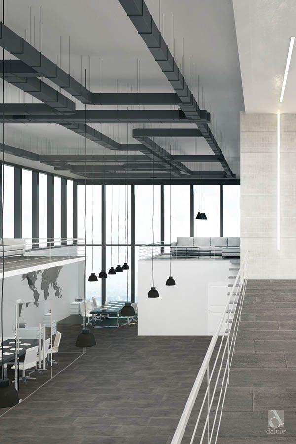 Concrete Masonry Tile In Sculpture Grey On The Wall And Rebar Grey On The Floor New From Daltile Daltile Concrete Masonry