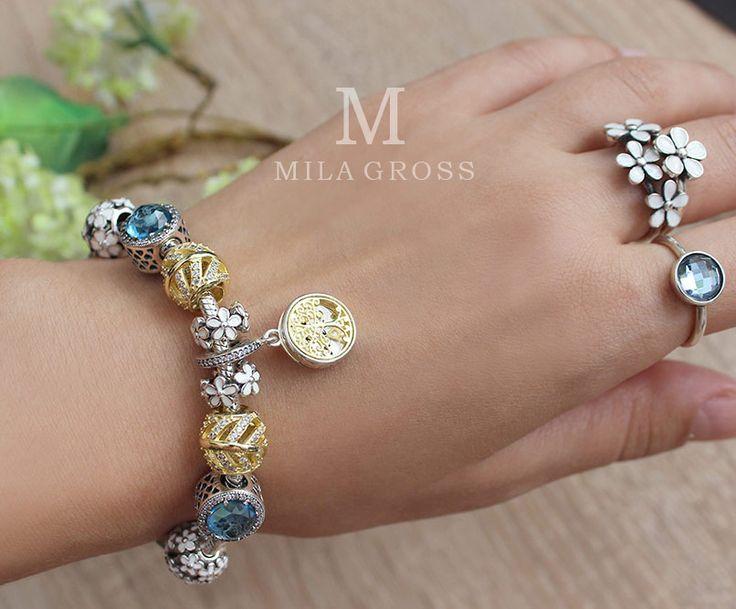 Серебряные браслеты Пандора с доставкой по Украине!