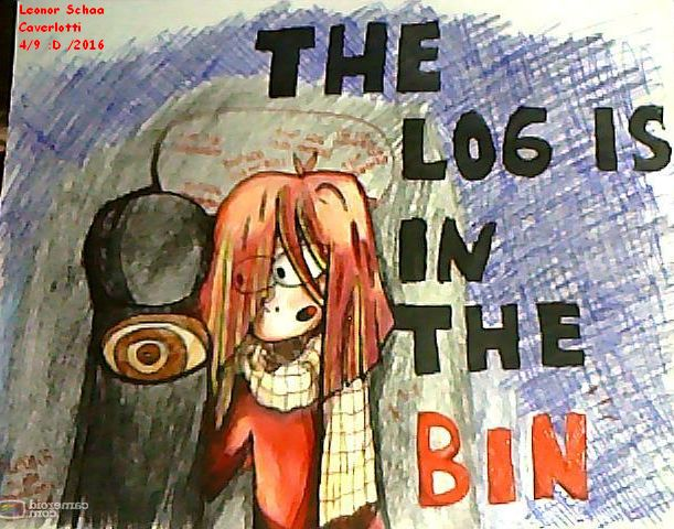 #Dhmis , #RedGuy , #TheLogIsInTheBin , #Donthugmeimscared.   (my first drawing in this board X3